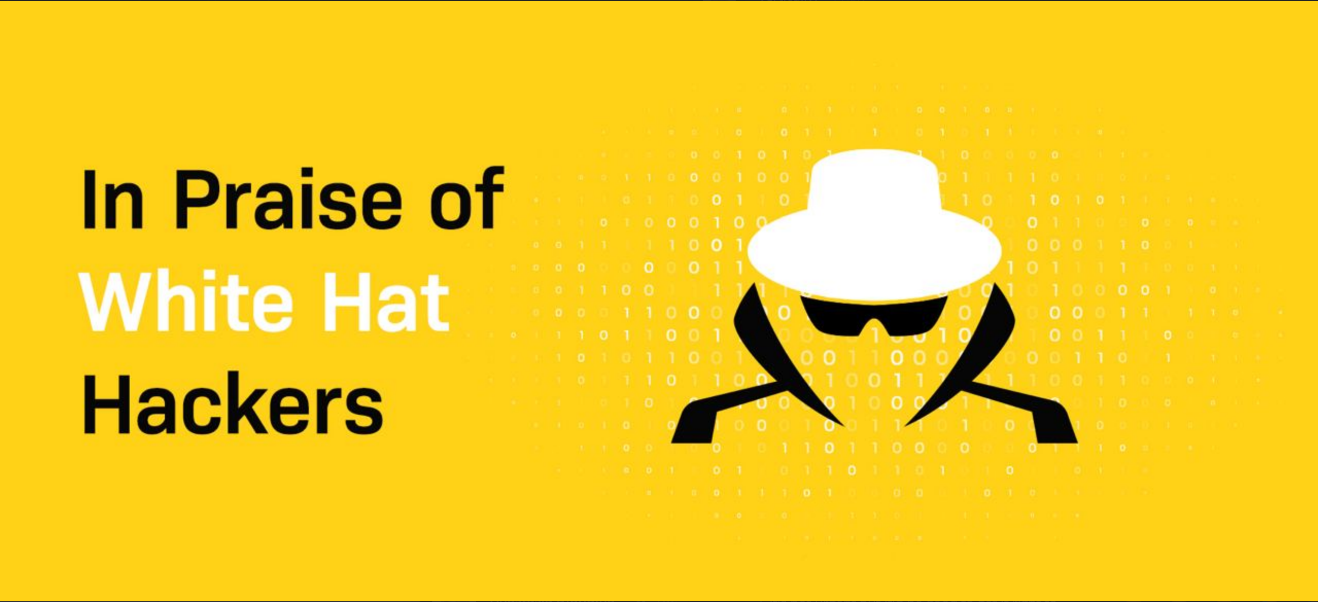 In Praise of White Hat Hackers